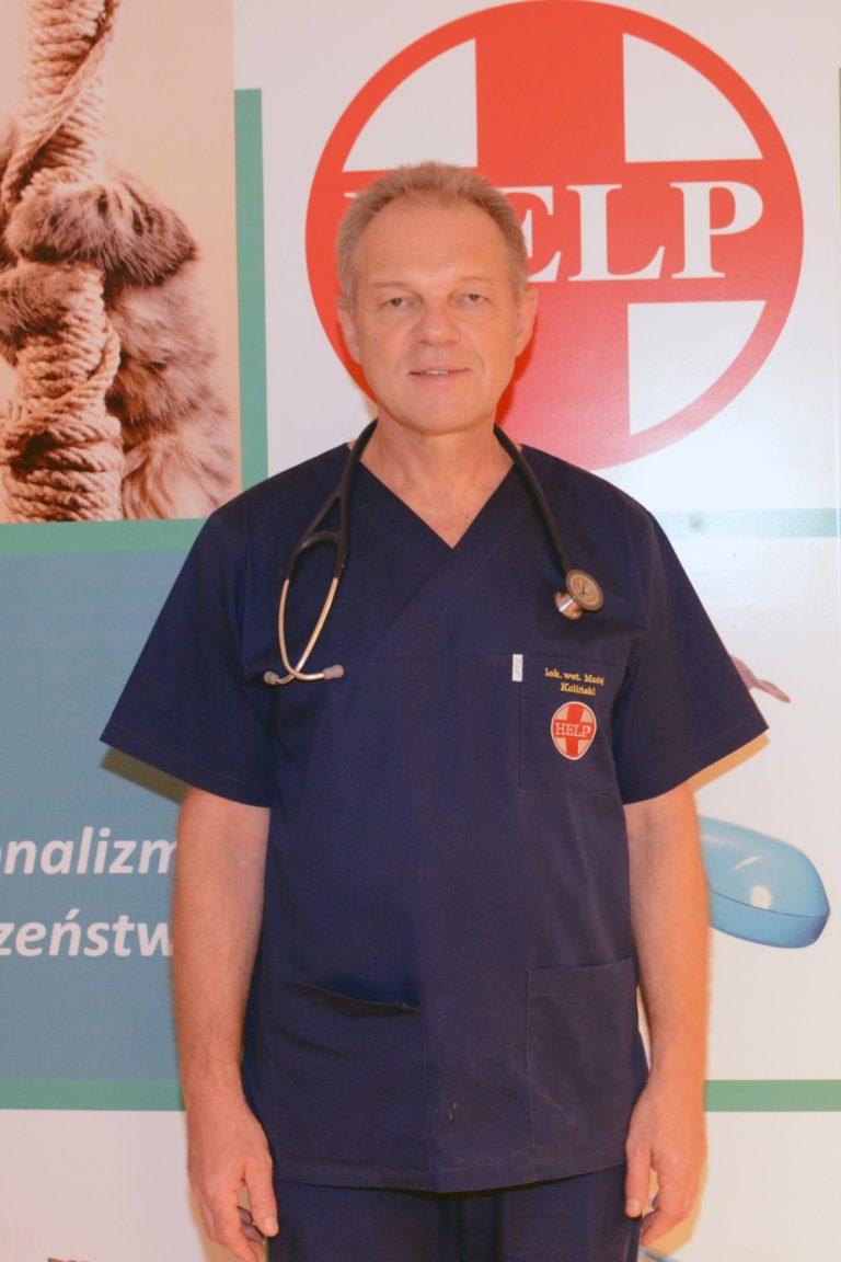 Lek. Wet. Maciej Koliński